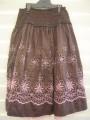 Size 7  Patch  Princess  Skirt