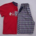 Size 4  Mixed Brands Tshirt +  Shorts