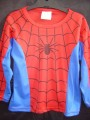 Size 4  No Label  Top Longsleeve - Spiderman