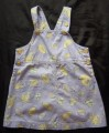 Size 3  Pumpkin Patch  Dress pinafore