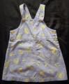 Size 3  Pumpkin Patch  Dress pinafore
